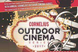 2017 Outdoor Cinema Series & Back 2 School Bash @ Robbins Park   Cornelius   North Carolina   United States