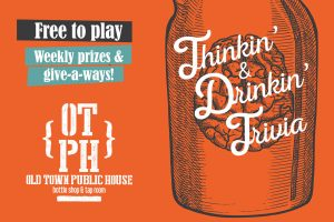 Thinkin' & Drinkin' Trivia @ Old Town Public House | Cornelius | North Carolina | United States