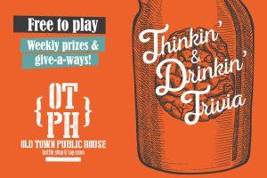 Thinkin' & Drinkin' Trivia @ Old Town Public House | Cornelius | North Carolina | United States