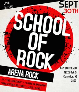 "School of Rock ""Arena Rock Show"" @ Oak Street Mill 