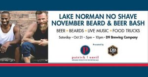 Beard & Beer Bash @ D9 Brewing Co | Cornelius | North Carolina | United States