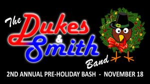 The Dukes & Smith 2nd Annual Pre-Holiday BASH @ Oak St Mill | Cornelius | North Carolina | United States