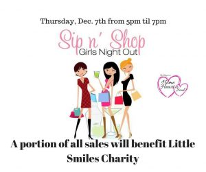 Ladies Sip & Shop @ The Shoppes at Home Heart & Soul | Cornelius | North Carolina | United States