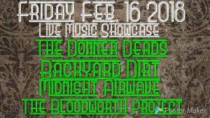 Band Showcase LIVE at Studio 13 @ Studio 13 | Cornelius | North Carolina | United States