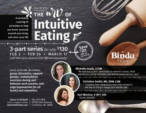 The Art of Intuitive Eating @ The Bindu | Cornelius | North Carolina | United States